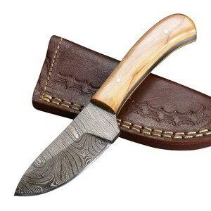 ナイフ・マルチツール, ナイフ  DM1080OW Damascus Blade Knife