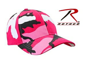 Rothco キャップ シュプリーム 9180 ピンクカモ 迷彩   ベースボールキャップ 野球帽 メンズ ワークキャップ ミリタリーハット ミリタリーキャップ カモフラージュ 帽子 通販 販売 シンプル 無地