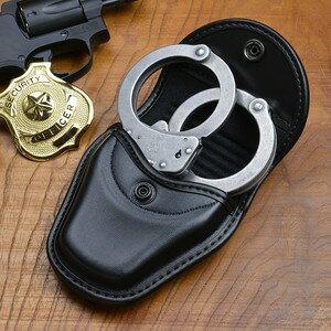 比安奇手銬案例 22062 黑色牛皮比安奇手銬例手銬手銬郵袋手銬郵袋手銬郵袋