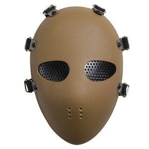 フェイスガード メッシュゴーグル ジェイソン [ タン ] フェイスマスク