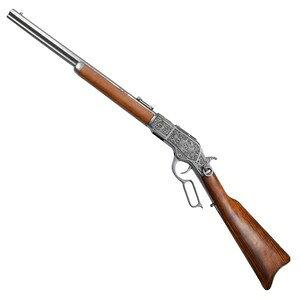 DENIX装饰枪复制品M73卡宾枪雕刻温彻斯特1253 G丹尼克斯M1873 Mod.73 carb古董旧模型枪古董枪西方枪44-40口径邮票