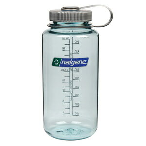 NALGENE ナルゲンボトル Tritan 広口 1.0L [ シーフォーム ] キャンティーン 水筒 トライタン 1L 1リットル