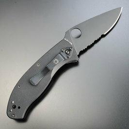 SPYDERCO折りたたみナイフC122GBBKテネイシャス半波Spyderco折り畳みナイフフォルダーフォールディングナイフホールディングナイフ折り畳み式ナイフ折りたたみ式ナイフ