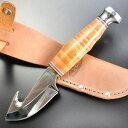 KA-BAR ハンティングナイフ 1234 ケーバー スキナー ハンターナイフ 狩猟 解体用 スキニングナイフ サバイバルナイフ シースナイフ