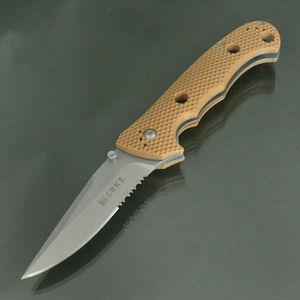 CRKT 折りたたみナイフ 7914DIN ハモンド・クルーザー タン   Columbia River 折り畳みナイフ フォルダー フォールディングナイフ ホールディングナイフ 折り畳み式ナイフ 折りたたみ式ナイフ