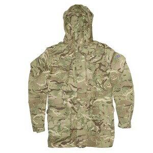 イギリス軍放出品 マウンテンパーカー MTPカモ 防風 防寒 スモック [ 190/104 ] ジャケット コンバットジャケット 迷彩 British army 英国軍 軍物 軍払い下げ品 ミリタリー アウトドア サバゲー