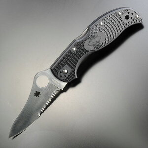 スパイダルコ 折りたたみナイフ ストレッチ 半波 C90BK 刃物の町 関市で作られた質の高い折りた...