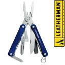レザーマン スクォートPS4 マルチプライヤー [ ブルー ] ミニプライヤー SquirtPS4|Leatherman ペンチ 携帯工具 マルチツールナイフ 十徳ナイフ 十得ナイフ 万能ナイフ サバイバルツール