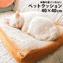 食パン型ペットクッション 40×40cm 犬 ペットベッド 猫 犬ベッド 猫ベッド ペットハウス 猫 クッション 猫用 犬用 ペット用 やわらかい ベッド 可愛い 猫グッズ おしゃれ 小型犬 食パン パン 大きい 分厚い 座布団 インテリア 北欧 pet029 【P】
