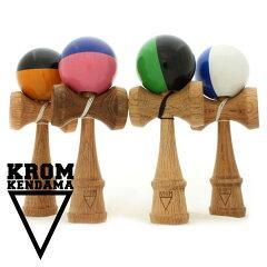 こだわりが実現した、最高品質のけん玉。KROM DeluxeRed Oak デラックス レッドオーク 【けん玉...