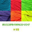 ストリング (タイプ6:ポリ100) x10 カラー