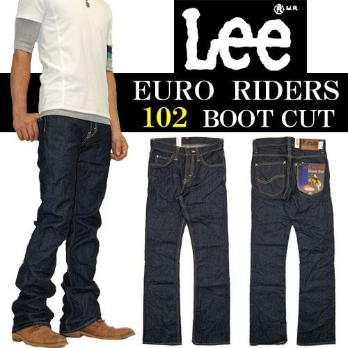 Lee(リー) EURO RIDERS ユーロライダース 腰と太ももにフィットする美脚フレ...