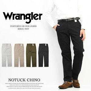 セール SALE Wrangler ラングラー ストレッチ ノータック チノパンツ レギュラーフィット トラウザーパンツ メンズ 股上深め WM4503