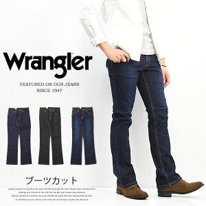 Wrangler ラングラー ブーツカット ストレッチ デニム メンズ ジーンズ ストレッチ素材 定番 WM3907