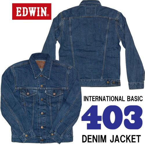 EDWIN(エドウィン) インターナショナルベーシック デニムジャケット Gジャン ...
