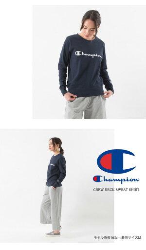 Championチャンピオンレディースロゴプリントスウェットシャツトレーナープルオーバーロゴトレーナー裏毛スウェットウィメンズ定番CW-K015