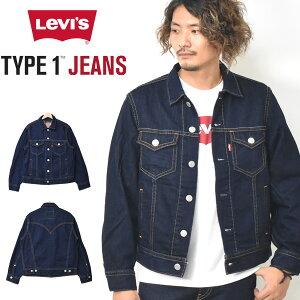 Levi's リーバイス TYPE 1 JEANS トラッカージャケット デニムジャケット Gジャン メンズ 長袖 ジージャン 送料無料 36389-0002 363890002