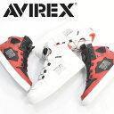 AVIREX アビレックス ブーツ スニーカー ディクティター DICTATOR 靴 ミッドカット アヴィレックス メンズ ダイヤル式 シューズ 送料無料 AV2278