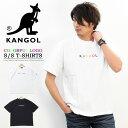 KANGOL カンゴール カラフルロゴ刺繍 半袖 Tシャツ