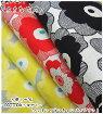 『北欧調プリント』大きなお花(綿麻キャンバス)【生地入園入学女の子花柄プリントリネン・コットンリネン】