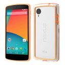 Google Nexus 5ケース Google Nexus 5バンパーケース 超軽量ハイブリッドバンパー ケース 全11色 オレンジ /イーモバイル/Google Nexus5 / ネクサス5 /カバー/ケ-ス/スマホケース/ハードケース/横開き