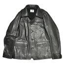 "GANGSTERVILLE30'SCAR-COAT""COWHIDE""(BLACK)����������ӥ륫���ϥ��ɥ���������/�쥶�����㥱�åȡ�GLADHAND/����åɥϥ�ɡ�"