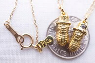 PEANUTS&CO.SmallPeanutstop��necklace(K10GOLD)�ԡ��ʥåĥ���ѥˡ�����ޥ����⡼��ԡ��ʥåĥȥåץ������10��
