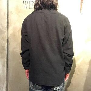 OLDCROWRODDERWORKER-L/SSHIRTS(BLACK)オールドクロウワークシャツ/GLADHAND/グラッドハンド/GANGSTERVILLE/ギャングスタービル/WEIRDO/ウィアード