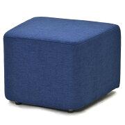 コロザ スツール ファブリック ブルー RFST2-JIFBL【送料無料】【代引き不可】アールエフヤマカワ RFyamakawa 待合 椅子 台形 ベンチ 腰掛け