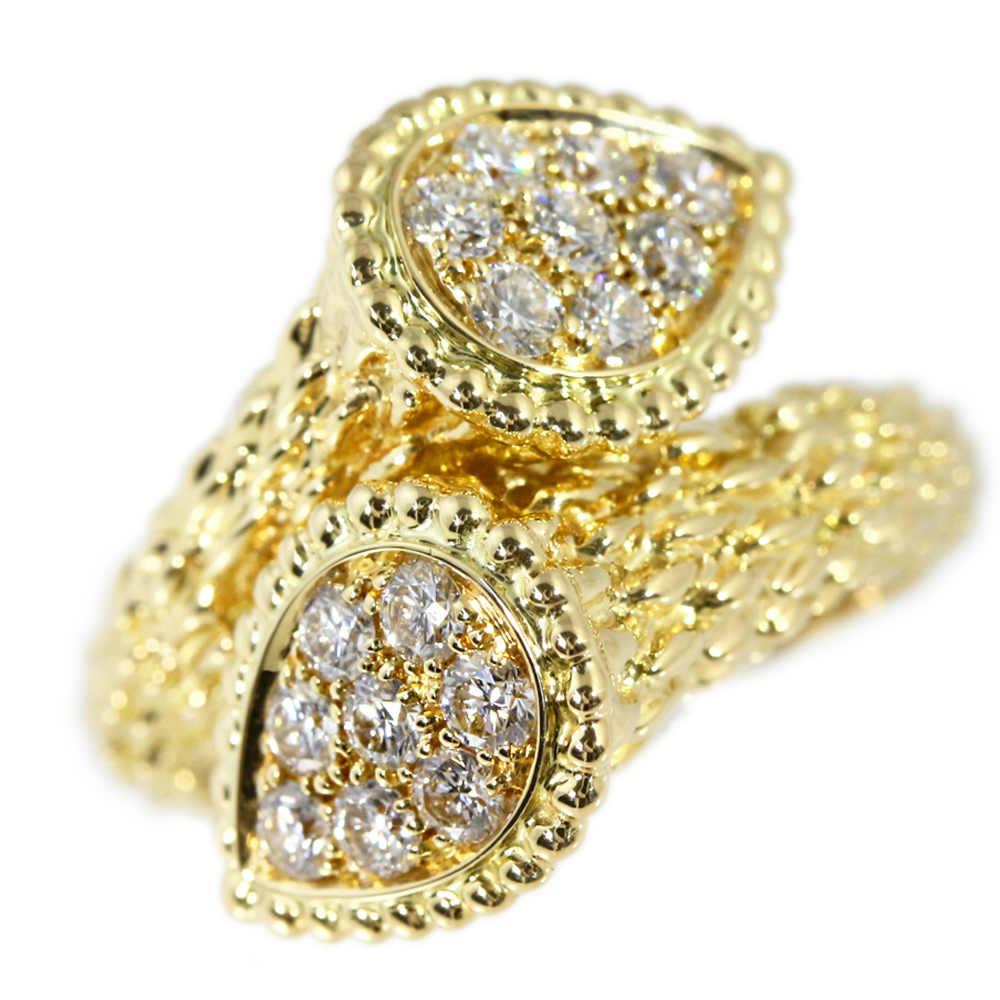 ブシュロン セルパンボエムトワエモアダイヤモンドリング