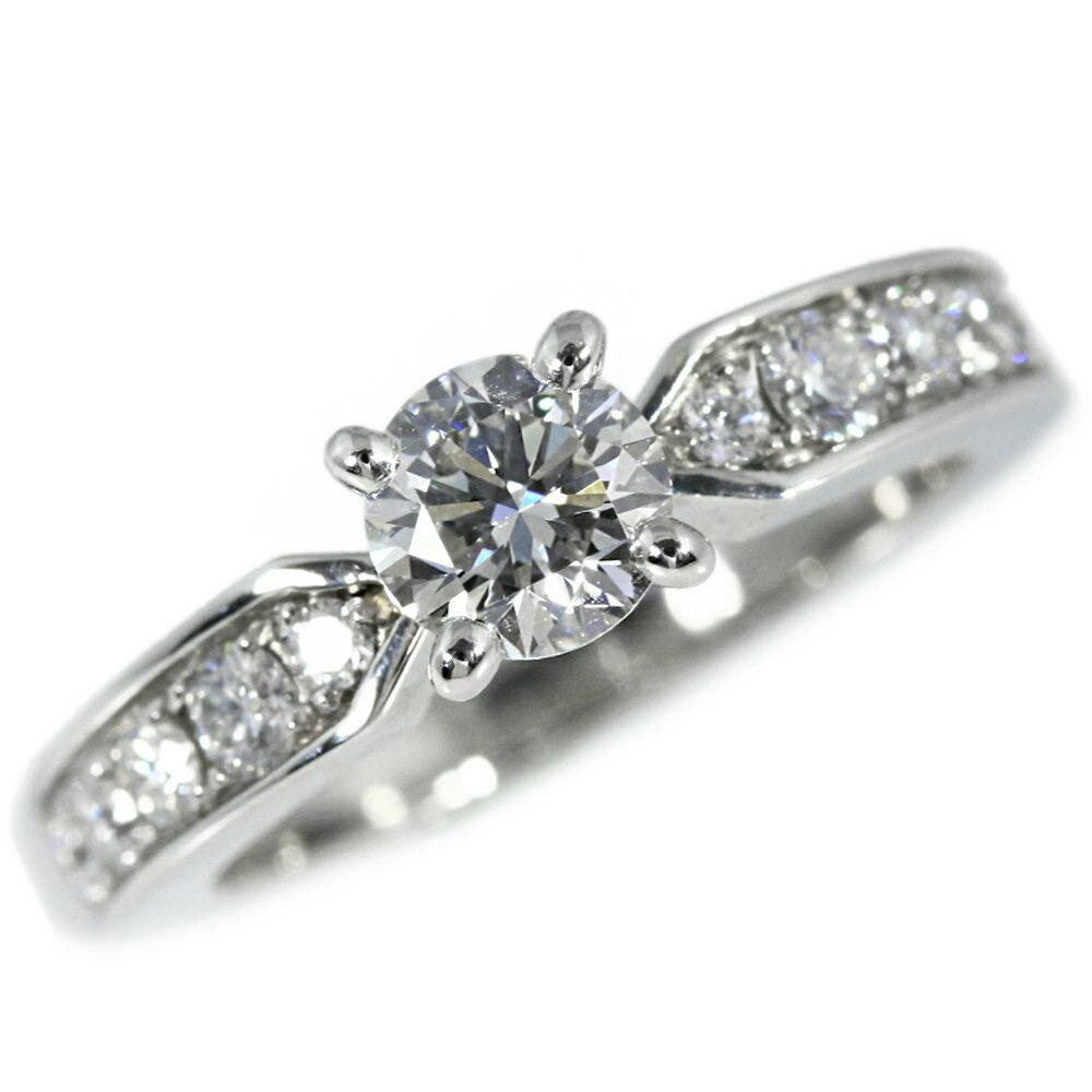 ショーメ プリュムソリテールダイヤモンドリング