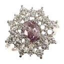 【最終値下】【新品】Fancy Pink Purple ピンクダイヤモンドリング・指輪/K18WG/750-6.5g/1.01ct/FD:1.75ct/GIA/11号/#51/ホワイトゴールド【♀】【N】【レディース】/i32191130■318860