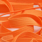 カラーコールゴム 約10mm オレンジ 9.14M巻 手芸 服飾 ラッピング FUJIYAMA RIBBON
