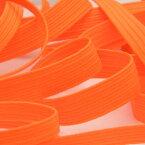 ネオンカラーコールゴム 約10mm 蛍光オレンジ 9.14M巻 手芸 服飾 ラッピング FUJIYAMA RIBBON