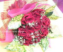 【送料無料】【成人の日】【誕生日】20本のバラの花束(生花)・ブーケタイプFL-SE-05