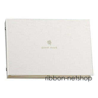 Guest book guest book clover white WE-GE-55