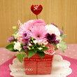 【送料無料】季節のお花のスタンディングブーケ(生花)(ピンク系)FL-HT-34