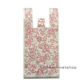 ◆手超級柄入◆購物袋、購物袋、shopparaitotatchipinku(L)HAND-27[含供購物袋/塑料袋/購物袋/衣架/業務使用的/花紋/花紋的/]