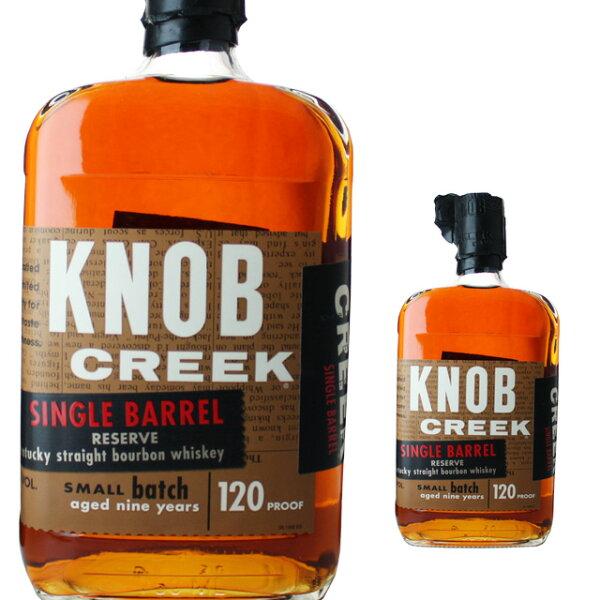 ノブクリークシングルバレル60度750ml箱なし ウィスキーバーボンバーボンウイスキーギフト洋酒お酒内祝いウイスキーノブ・クリー