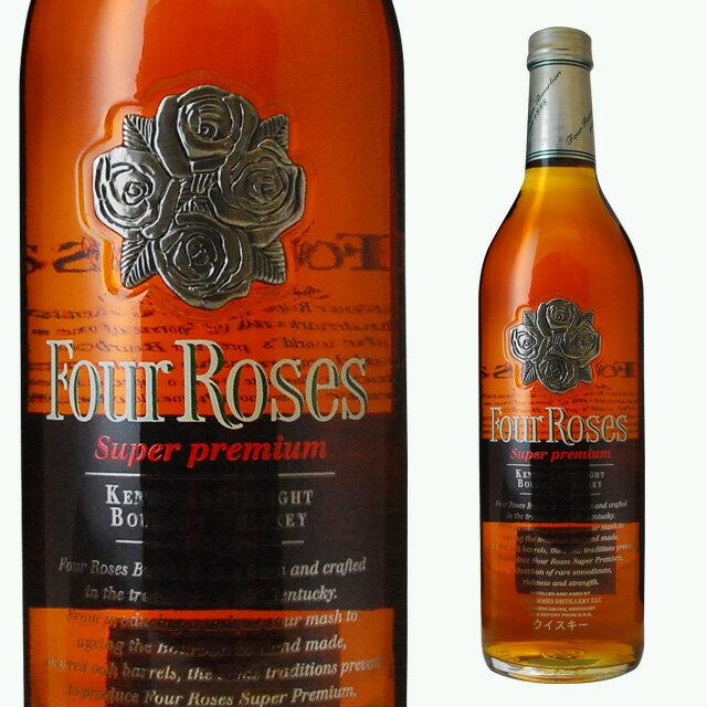 バーボン, ストレート  43 750ml four roses