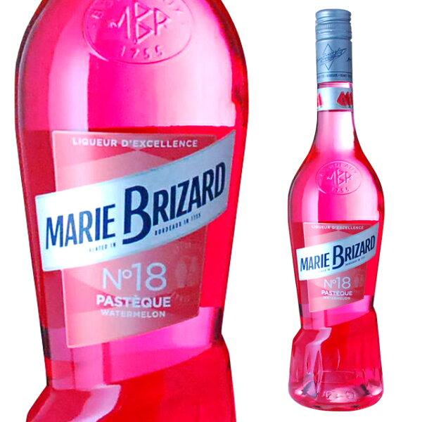マリーブリザールショットウォーターメロン17度700ml箱なし リキュールお酒ギフトカクテルプレゼントメロン洋酒スイカすいか誕生