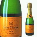 [ミニ] ヴーヴ クリコ ポンサルダン ブリュット イエローラベル ハーフ 375ml 【シャンパン 結婚祝い ギフト お酒 ヴーヴクリコ ブーブクリコ ブーブ 誕生日プレゼント シャンパーニュ イエロー 高級シャンパン お祝い シャンペン 敬老 】【ワインならリカオー】