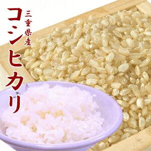 お米 送料無料 コシヒカリ 玄米 5kg【五つ星お米マイスター検査米】三重県産 あす楽 安い 美味しい