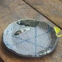 和食器 今日の夕飯おかずレシピ 南蛮乱十草 18.3×2.2cm プレート 丸皿 おうち ごはん うつわ 食器 陶器 日本製 インスタ映え