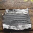 和食器 野菜モリモリサラダ 白刷毛号正 長角皿 245×245×30mm おうち ごはん うつわ 陶器 美濃焼 日本製 インスタ映え