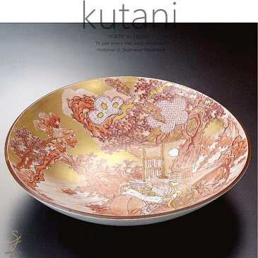 九谷焼 15号飾プレート 皿 太公望 和食器 日本製 ギフト おうち ごはん うつわ 陶器