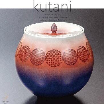 九谷焼 6号彩釉水差 赤小紋 和食器 日本製 ギフト おうち ごはん うつわ 陶器