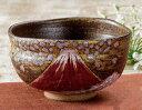 九谷焼 抹茶碗 お抹茶 茶道 金雲桜富士 和食器 日本製 ギフト おうち ごはん うつわ 陶器