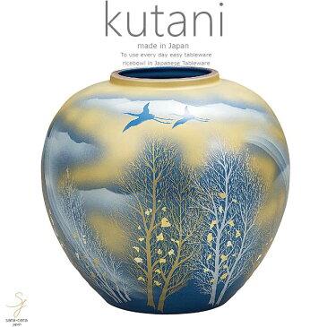 九谷焼 8号花瓶 金雲木立 和食器 日本製 ギフト おうち ごはん うつわ 陶器