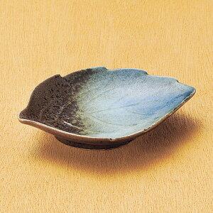 和食器 小さな森の湖木の葉 小鉢 小皿 豆皿 11.7×8.7×2.3cm うつわ 陶器 おしゃれ おうち